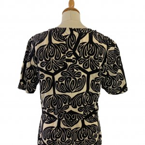 חולצת שרוול קצר שחור לבן - Marni 2