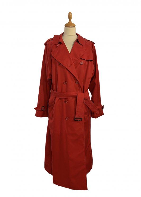 מעיל טרנץ׳ ארוך אדום - Burberry 1