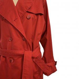 מעיל טרנץ׳ ארוך אדום - Burberry 4