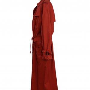 מעיל טרנץ׳ ארוך אדום - Burberry 8