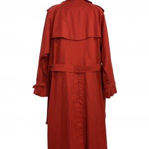 מעיל טרנץ׳ ארוך אדום - Burberry 2