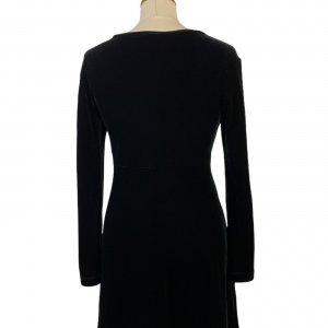 שמלת קטיפה שחורה - BCBG Dresses 2