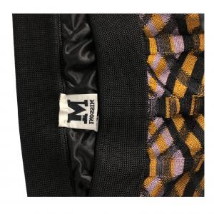 חצאית סריג גלים שחור כתום סגול missoni 2