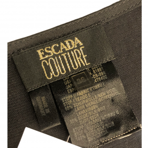 גופיה שחורה פס זהב - ESCADA 6