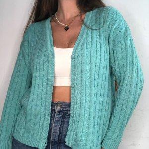 סוודר קרדיגן בצבע תכלת honigman 2