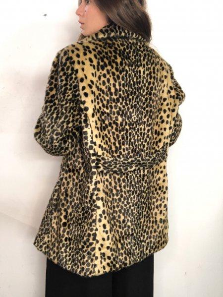 אוברול שחור עם הדפסי מרובעים בצבעי חום עם חגורה ואבזם זהב 22