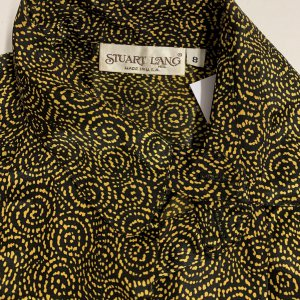 חולצה צהוב שחור - וינטג׳ - Stuart Lang 8