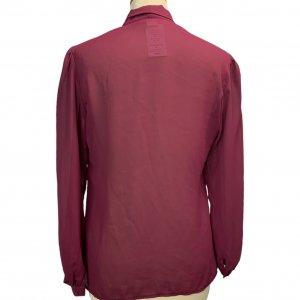 חולצה מכופתרת שיפון סגולה 4