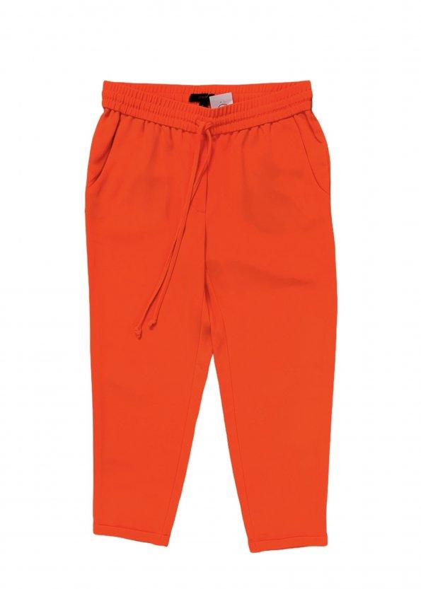 מכנסיים ארוכים כתומים של j.crew 1