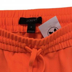 מכנסיים ארוכים כתומים של j.crew 5