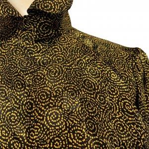 חולצה צהוב שחור - וינטג׳ - Stuart Lang 6