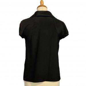 חולצת משי שחורה - Armani 3