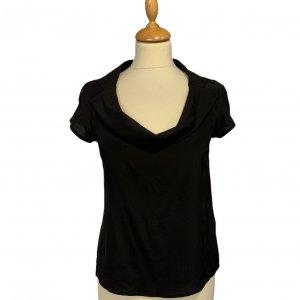 חולצת משי שחורה - Armani 2