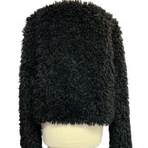 מעיל דמוי פרווה שחור UGG 3