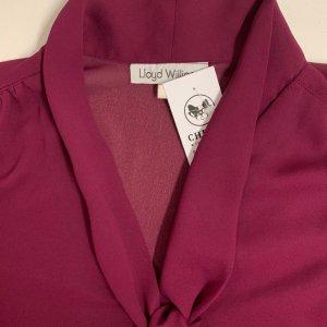 חולצה מכופתרת שיפון סגולה 6