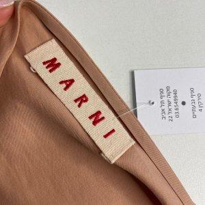 חולצה קצרה עם פפיון בצבע ורוד פודרה marni 4