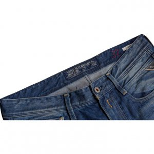 מכנס ג'ינס replay קרעים לגבר 4