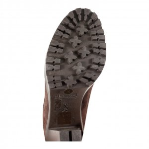 נעלי עקב סגול בורדו - Yves Saint Laurent 4