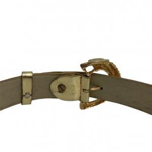חגורה זהב prada 12