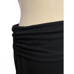 חצאית קצרה שחורה עם חגורה שחורה - DKNY 3